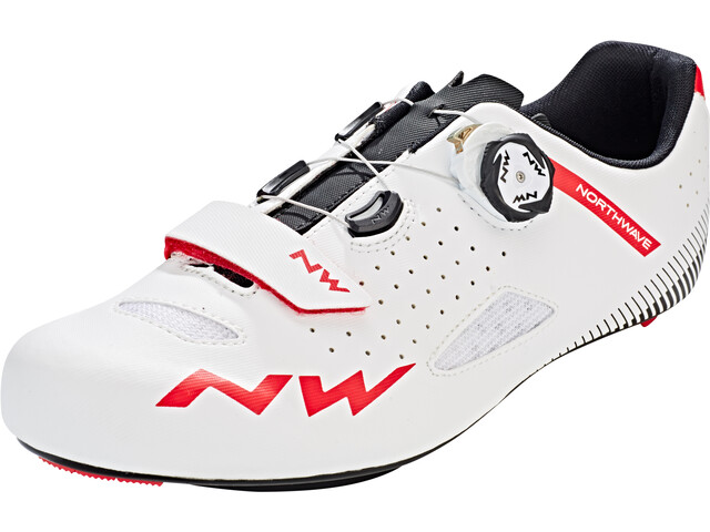 Northwave Core Plus Chaussures Homme, white/red